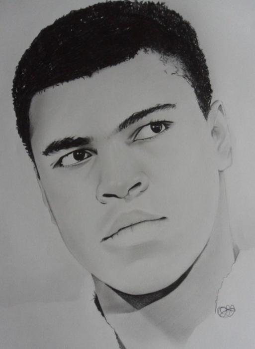 Muhammad Ali par oliversportraits